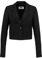 MM6 MAISON MARGIELA Cropped Linen-Blend Twill Jacket