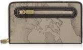 Alviero Martini Geo Print Zip Around Wallet