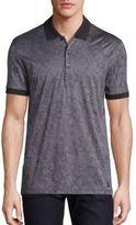 Versace Jacquard Short Sleeve Polo