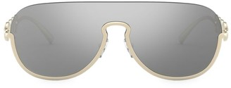 Versace 39MM Mirrored Aviator Sunglasses