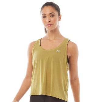 Under Armour Womens Sport Mesh Swing Tank Green