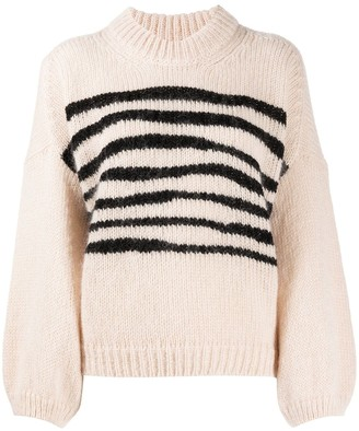 BA&SH Stripe-Detail Jumper