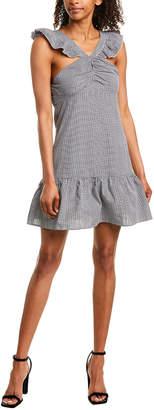 Romeo & Juliet Couture Gingham Ruffle Shift Dress