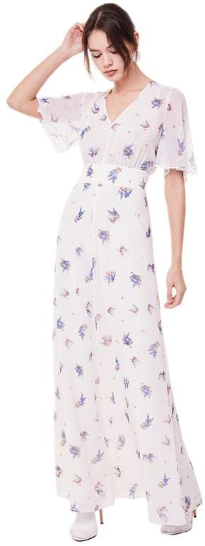 Juicy Couture Drifting Wildflowers Maxi Dress