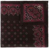 Canali patterned pocket handerchief