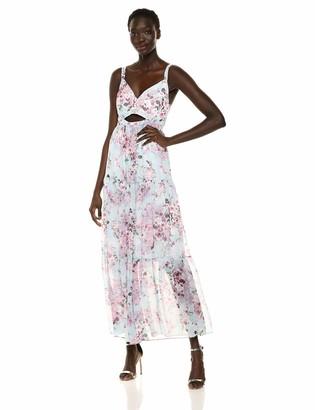 Rachel Roy Women's Adrena Chiffon Maxi Dress