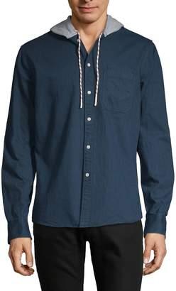 Sovereign Code Drawstring Hooded Shirt