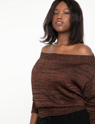ELOQUII Metallic Sweater