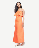 Ann Taylor Tiered Maxi Dress