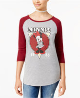 Freeze 24-7 Juniors' Minnie Mouse Graphic T-Shirt