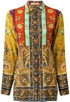 Etro multi-print shirt - women - Silk - 42