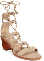 Frye Women's Brielle Gladiator Lace-Up Sandals