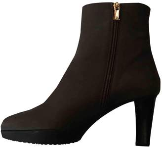 Fratelli Rossetti Brown Leather Ankle boots