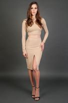 Donna Mizani Long Sleeve Crop Top