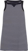 Sacai Striped cotton dress