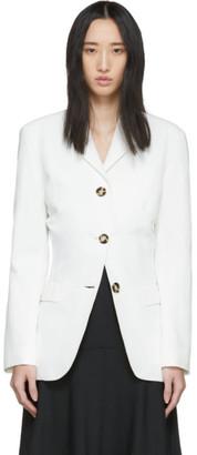 Proenza Schouler White Cinched Blazer