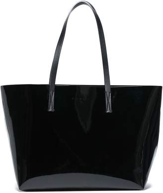 Marni Faux Patent-leather Tote