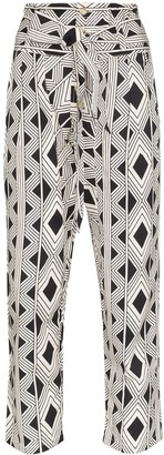 Figue Portia printed trousers
