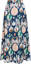 Temperley London Love Potion Midi Skirt