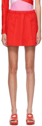 adidas LOTTA VOLKOVA Red Jersey Tennis Miniskirt