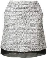 Karl Lagerfeld A-Line bouclé skirt