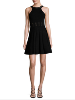 Cushnie et Ochs Solid Fit And Flare Dress