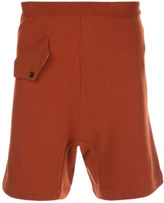 Marni High-Waisted Wool Shorts