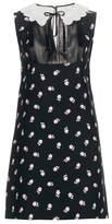 Miu Miu Embellished shift dress