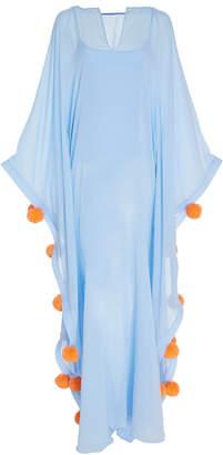 Leal Daccarett Gorgona Cotton Blend Swimsuit Caftan