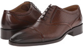 Etro Mixed Leather Cap Toe Oxford