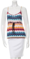 Missoni Drawstring-Accented Patterned Top