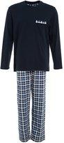 Schiesser Pyjamas Dunkelblau