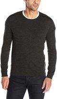 John Varvatos Men's Crew-Neck Sweater