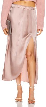 SABLYN Ariel Slit Skirt in Cherry Blossom | FWRD