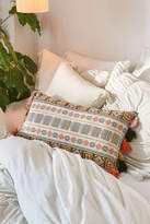 Urban Outfitters Harper Embroidered Bolster Pillow
