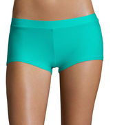 Arizona Teal Boyshort Swim Bottoms