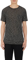 Barneys New York Men's Slub Jersey T-Shirt-DARK GREY
