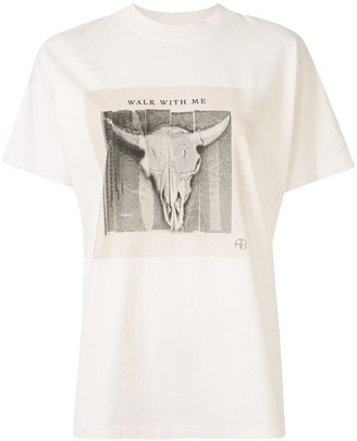 Anine Bing Lili graphic-print T-shirt