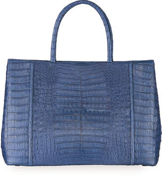Nancy Gonzalez Large Crocodile Top Handle Tote Bag