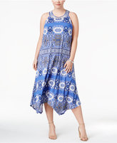 INC International Concepts Plus Size T-Back Midi Dress, Created for Macy's