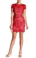 Minuet Lace Layered Mini Dress