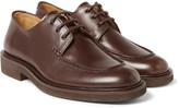 A.p.c. - Split-toe Leather Derby Shoes