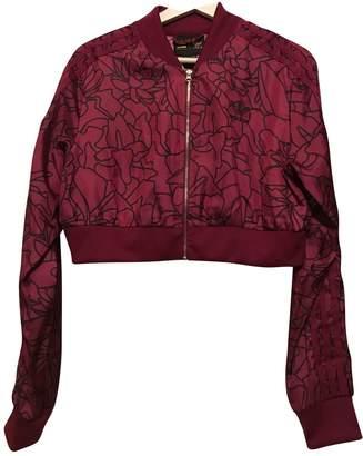 Pharrell Adidas X Williams Burgundy Jacket for Women