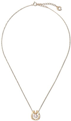 Tasaki 18kt yellow gold Aurora Akoya pearl pendant