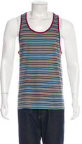 Marc by Marc Jacobs Striped Woven Tank