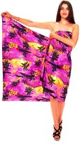 V.H.O. Funky Hawaiian Sarong Pareo Cover-Up For Women One-Size Surf