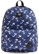 Vans Boy's X Peanuts Old Skool Ii Backpack - Blue