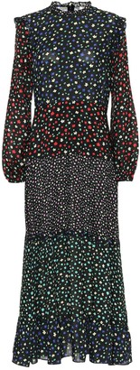 Rixo Bille floral maxi dress