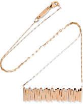 Suzanne Kalan 18-karat Rose Gold Necklace
