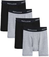 Fruit of the Loom Boys Signature 4-Pack Boxer Briefs